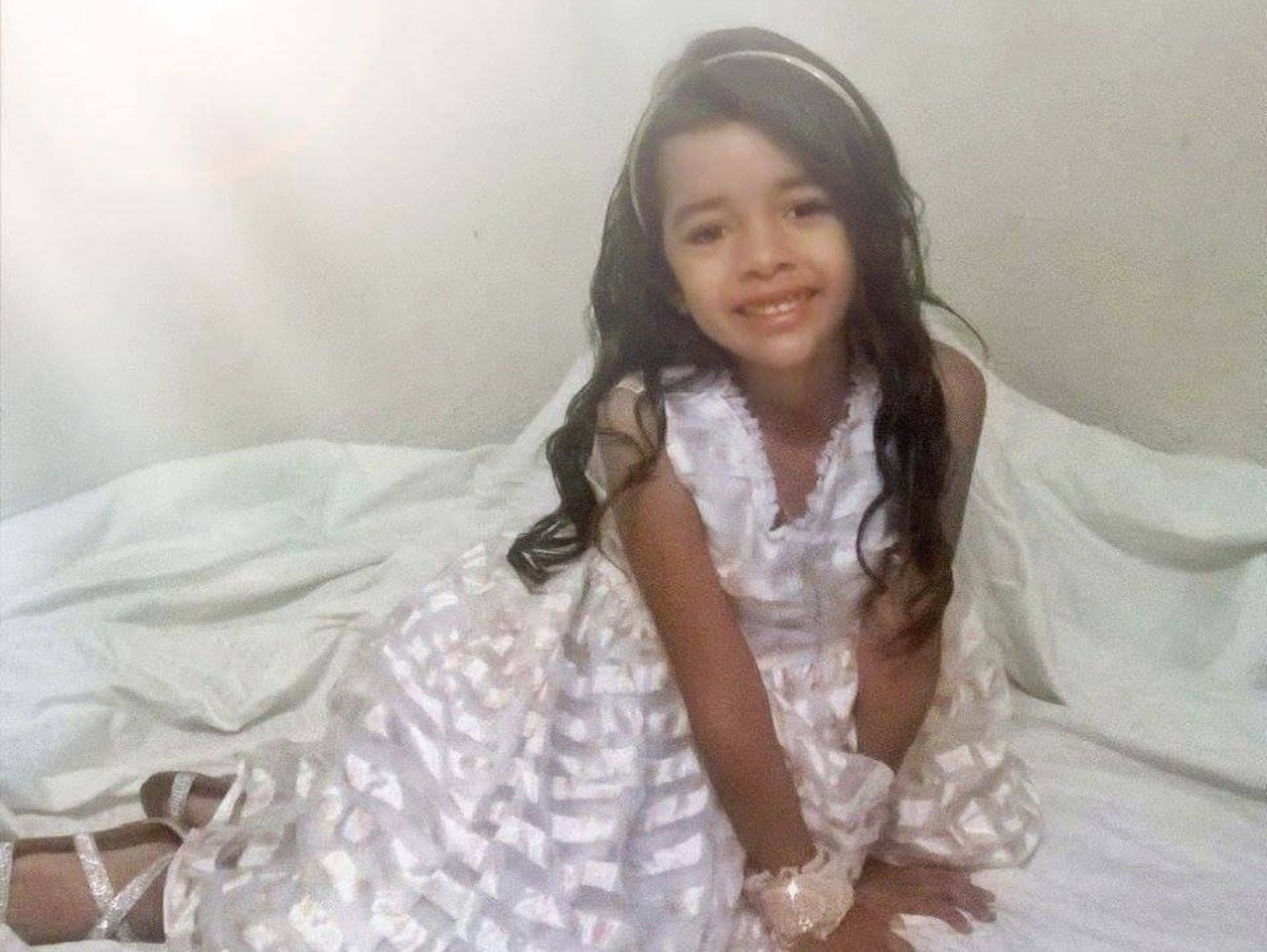Alisson Ximena Valencia Madrid, 6, was heard pleading