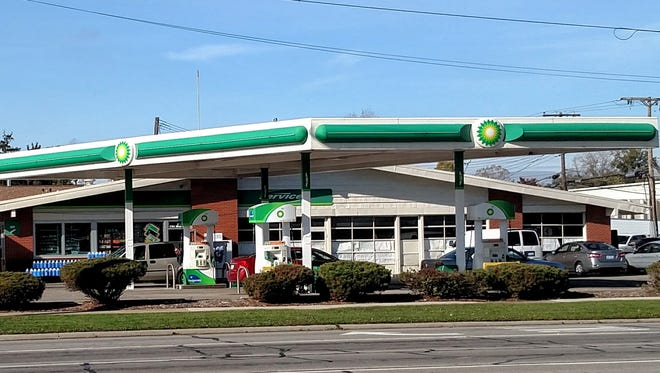 This BP station was broken into early Friday morning.