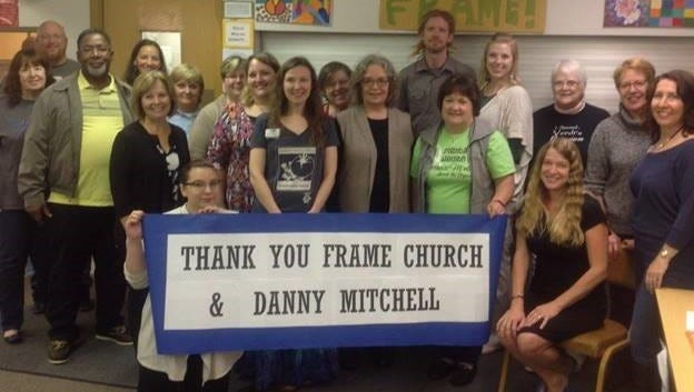 Frame Memorial Presbyterian Church of Stevens Point was able to grant more than $13,000 to 20 local organizations through the Danny Mitchell Music on a Mission concerts and other fundraisers.