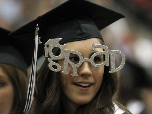 Images from the Willard High School Graduation in Willard on May 16, 2014