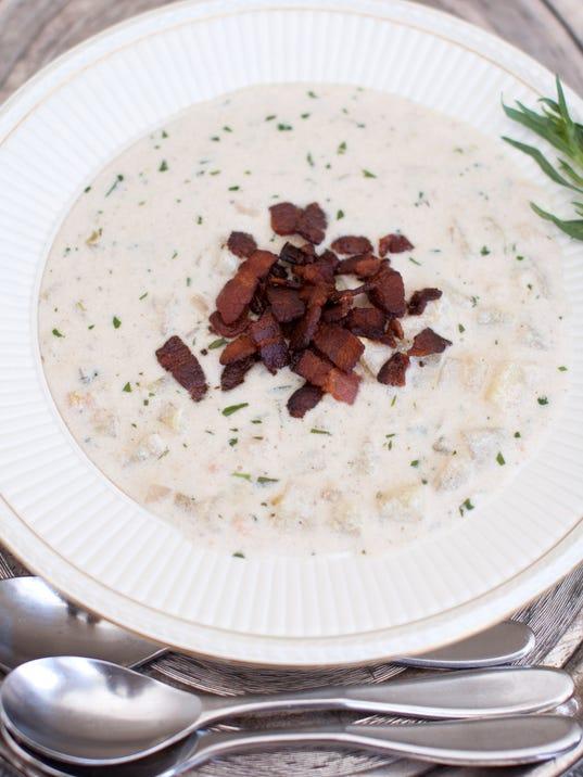 Food Clam Chowder