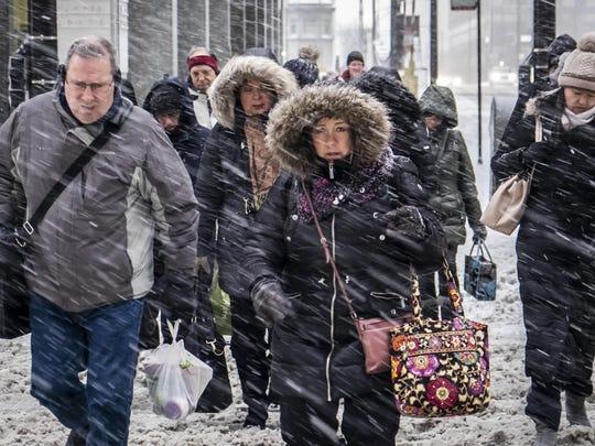 APTOPIX Winter Weather Chicago