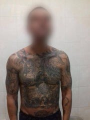 A suspected Barrio Azteca gang member was arrested