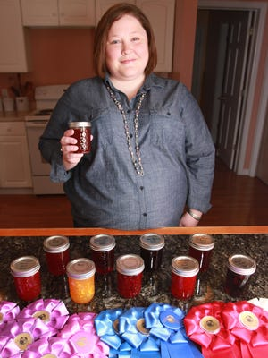 Harrison Township resident Jennifer Noble is well known at the Hartford Fair, with her jams and jellies and other entries winning dozens of ribbons. One of her jam entries at the Ohio State Fair recently won best in show.