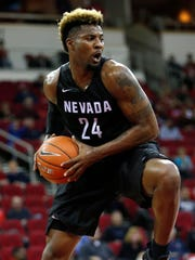 2016: Nevada's Jordan Caroline is one of the top offensive rebounders in the nation and also excels at getting to the free throw line.