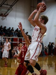 Pierce Parmer helped the Christoval Cougars win two playoff games by a combined three points in 2016.