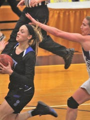 Scott senior Anna Clephane races past Campbell County