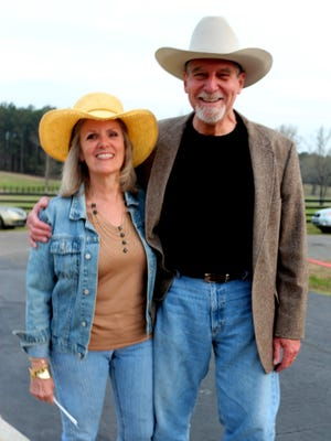 Peggy and Kirk Touchstone attend last year's Ouachita Council on Aging's Shindig. This year's event is Friday at MBH Farm.