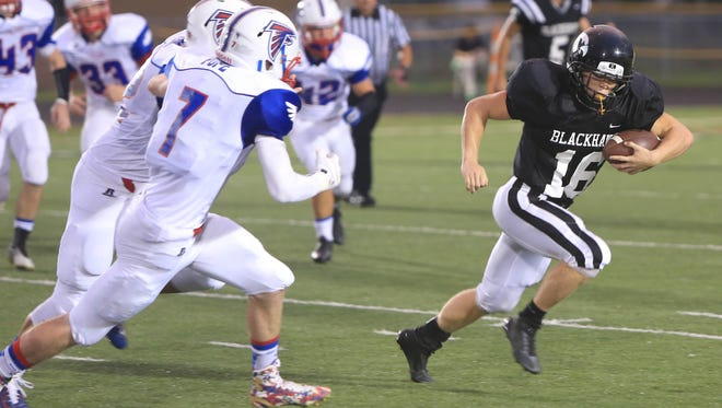Bryce Myers (16) and North Buncombe are home for Friday's game against Erwin.