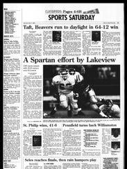 Battle Creek Sports History: Week of Sept. 7, 1996