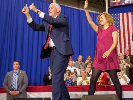 AP CAMPAIGN 2016 PENCE A ELN USA OH