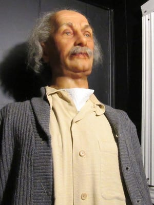 Pa Onsite Auction Company will hold an auction of around 60 wax figures on May 13 at the Eisenhower Complex in Gettysburg, including a likeness of Albert Einstein.