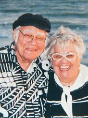 Dr. Walt Walker and Elaine Walker in a photo taken