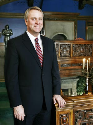 Marian University President Daniel J. Elsener is leading during a time of growth.