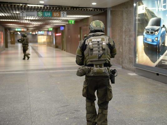 EPA GERMANY CRIME MUNICH SHOOTING CLJ CRIME DEU BA