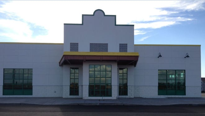 The restaurant that was planned as a Quaker Steak & Lube isn't finished yet.