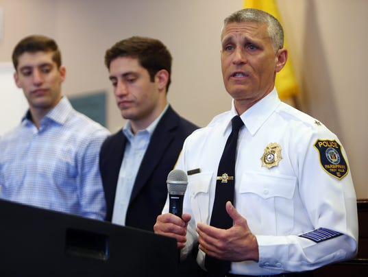 Parsippany chief swearing in