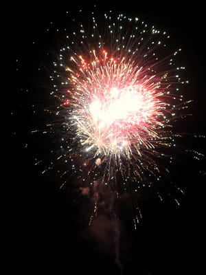 Fourth of July festivities in downtown Black Mountain included a cookout at Harwood Home for Funerals, a street dance, music at Louise's Kitchen and a fireworks display.
