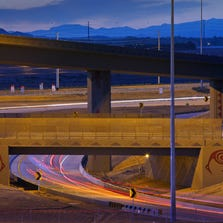 Portions of the loop 303 are now open Monday, Sept. 1,  2014 in Goodyear,  Ariz.