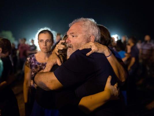 USP NEWS: FIRST BAPTIST CHURCH SHOOTING A USA TX