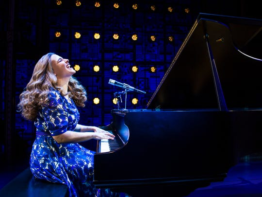 "Sarah Bockel stars as the iconic singer-songwriter Carole King in ""Beautiful: The Carole King Musical."""