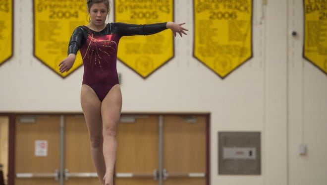 Rocky Mountain will be competing in the Class 5A state gymnastics meet with prelims Thursday and finals Saturday at Thornton High School.