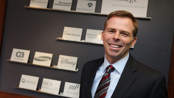 Kurt Heikkinen CEO of Montage, in the company's Delafield office.