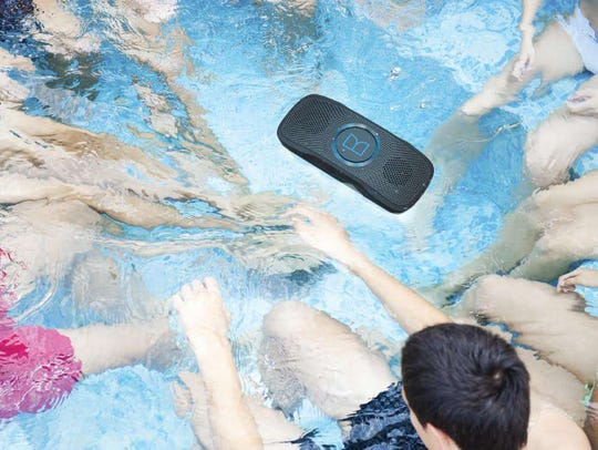 The Monster Superstar Backfloat speaker.