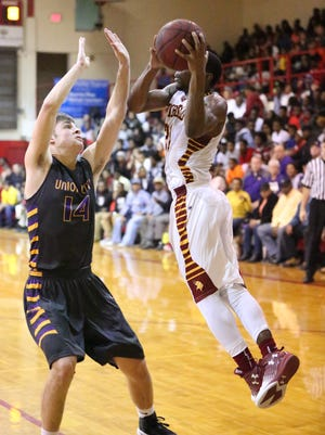 Humboldt defeated Union City 64-52 at Humboldt High School in Humboldt, Tenn., on Tuesday, Jan. 3, 2017.