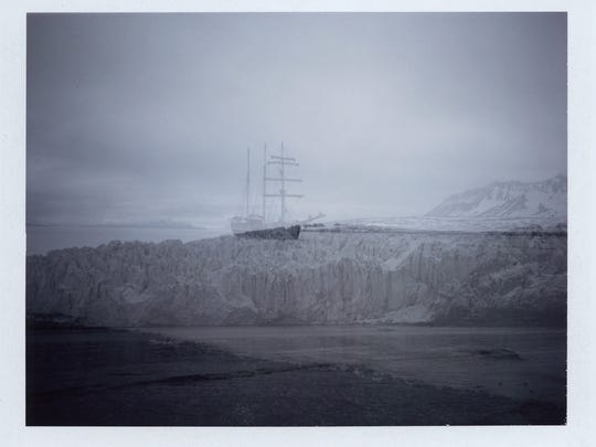 Megan Berner, a UNR photography professor, created several double exposure photographs of the sights she took in while in the Arctic Circle.
