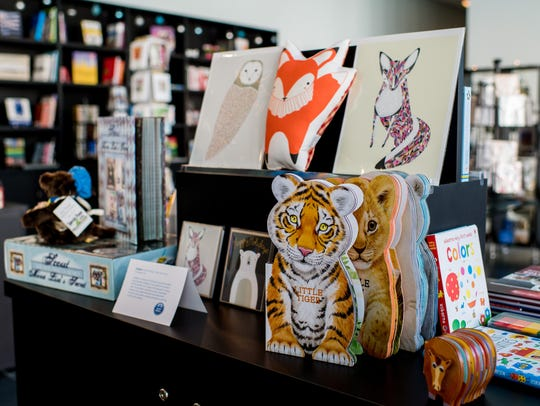 Various children's items are sold at the James W. Bean