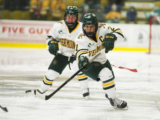 New Hampshire vs. Vermont Women's Hockey 02/13/15