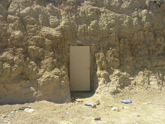 The arrests of three alleged drug traffickers led to the stash cave in Juárez.