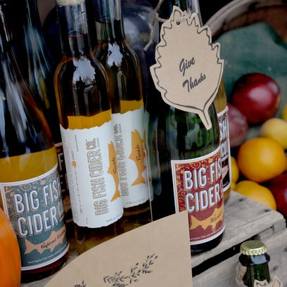 Small town, big cider: Monterey's Big Fish Cider