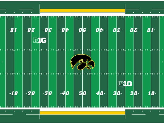 An artist's rendering of what the Tiger Hawk at midfield