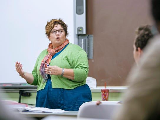Professor Lucy Lawrence has led four Warren Wilson