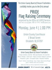 The rainbow flag will fly for the first time at the