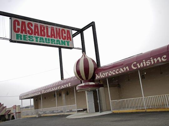 Casablanca Restaurant will reopen this Friday.