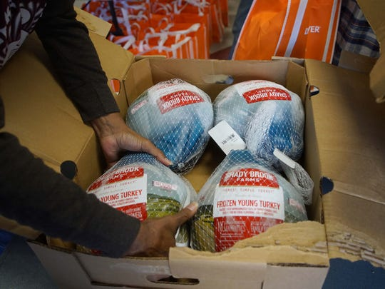NOR Enterprise/Our Youth Inc. held its annual turkey drive handing out free turkeys to residents living in subsidized housing.