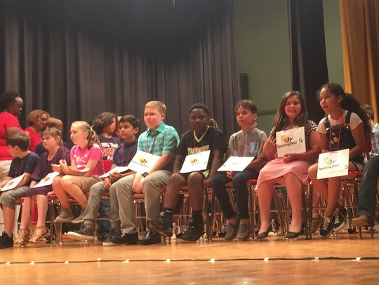 Some of the best spellers in Montgomery County gathered