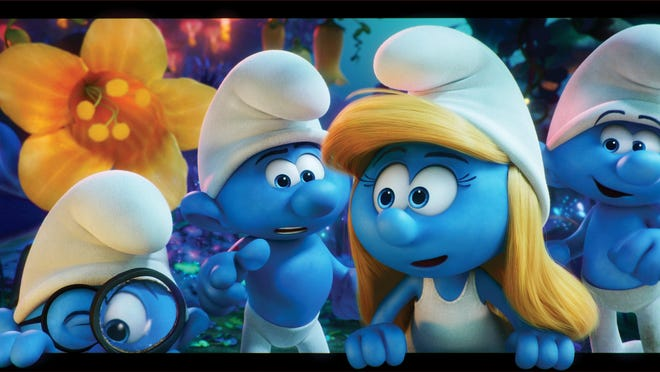 """Smurfs: The Lost Village"" follows the further adventures of the little blue critters."