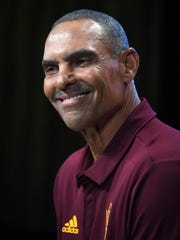 Arizona State head coach Herm Edwards.