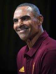 Arizona State head coach Herm Edwards.