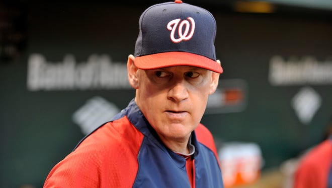 Nationals manager Matt Williams