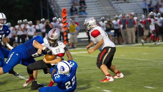 Bishop Chatard routed Cardinal Ritter 48-19 on Friday, September 18, 2015.