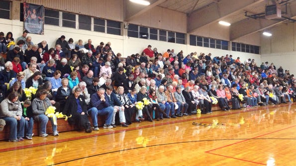 The Greenfield community shows support for Mark McAlister