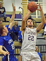 Fowlerville's Nick Semke had 15 points, 13 rebounds