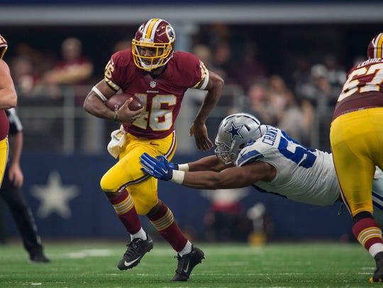 Jan 3, 2016; Arlington, TX, USA; Washington Redskins