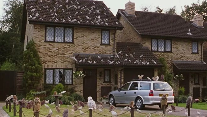 Harry Potter's home in the Harry Potter film series.