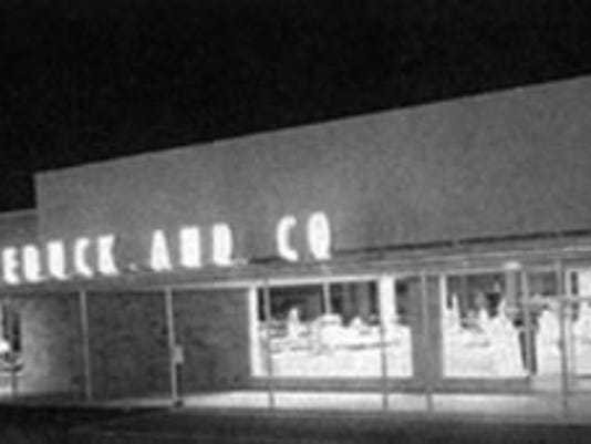 I remember shopping at this Sears growing up. You'd walk in the front door and you could smell the hot dogs grilling. I rarely left without buying a hot dog. Anyone else remember this?
